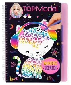 TOPModel Magic Scratch-Book